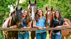 Kaimanawa horse trainers Amanda, Vicki and Kelly Wilson provided plenty of TV drama says producer Esta Hutchins. Equestrian Outfits, Equestrian Style, Cute Horses, Beautiful Horses, Rider Song, Wilson Sisters, Horse Care Tips, Lord, All About Horses