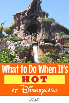 Avoid meltdown at Disneyland in the heat with these practical tips on what to do, see and how to stay cool at Disneyland when the temperatures soar. #Disneyland #SummerTravel #Disney #FamilyTravel #TravelwithKids #California #Summer #SummerVacation #SoCal