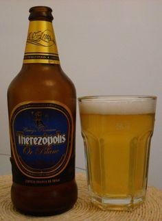 Cerveja Therezópolis Or Blanc, estilo Witbier, produzida por Cervejaria Sankt Gallen, Brasil. 4.5% ABV de álcool.