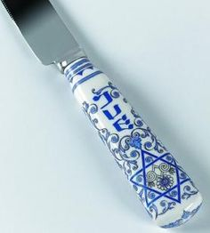 gorgeous challah knife