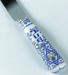 gorgeous challah knife