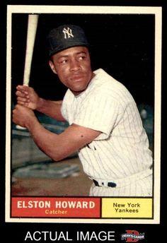 1961 Topps #495 Elston Howard Yankees EX/MT #Yankees