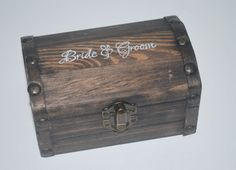 Custom Ring Bearer Box: Burlap and Lace by DomesticatedEngineer