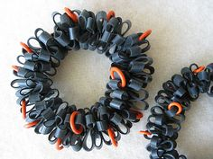 Rubber bracelets | made from bicycle inner tube | Freya Willemoes-Wissing | Flickr