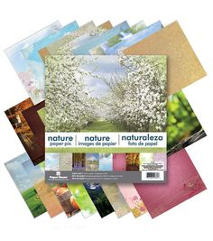 Paper House Nature Double-Sided Paper Pad 12