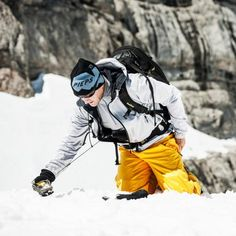 SNOW SAFETY - how to act as an avalanche rescuer Safety, Bomber Jacket, Snow, Bomber Jackets, Let It Snow