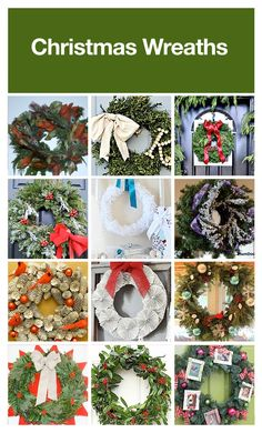70+ sensational DIY Christmas wreaths.