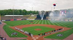 April 14, 2016 - Opening Day for the Gwinnett Braves of the AAA International League at Coolray Field.