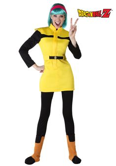 Adult Bulma costumes from Halloweencostumes.com