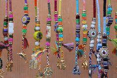 Frameable: Hair Wraps from Animal Kingdom, Disney World Thread Hair Wraps, Hair Wrap Scarf, Hippie Hair, Boho Hairstyles, Hair Jewelry, Dreadlock Jewelry, Jewellery, Hair Today, Bead Art