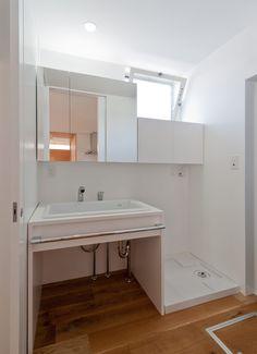 ピュアオーガニックハウスの浴室・洗面所1