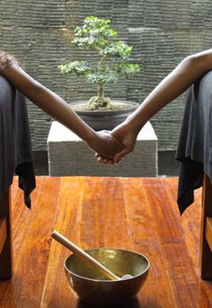 You can get a massage AND learn how to give a traditional Balinese massage.