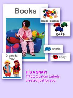 Classroom Labels You Create