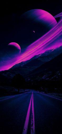 Purple Galaxy Wallpaper, Galaxy Wallpaper Iphone, Pop Art Wallpaper, Planets Wallpaper, Wallpaper Space, Scenery Wallpaper, Cute Wallpaper Backgrounds, Homescreen Wallpaper, Cute Wallpapers