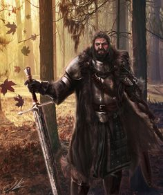 Lord Rickard Stark by Mike-Hallstein on DeviantArt
