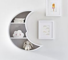 Find baby nursery ideas and inspiration at Pottery Barn Kids. Discover our gender neutral nursery ideas and themes that are perfect for any expecting mom. Clouds Nursery, Moon Nursery, Star Nursery, Baby Nursery Decor, Nursery Neutral, Baby Decor, Galaxy Nursery, Nursery Room Ideas, Star Themed Nursery