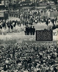 brighton, mods and rockers