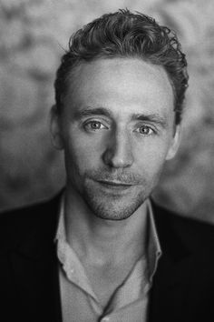 Tom Hiddleston~I don't know exactly what it is about THIS man, but he makes me strive to be a better human being every time I hear him speak. I love his optimism, his generosity, he is hysterically funny and deep at the same time and he knows who he is and why he is here. What a beautiful soul.