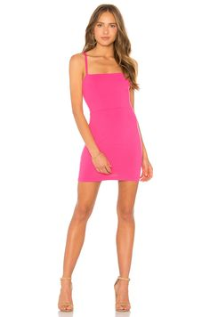 00cb4fe553d75 Shop for Susana Monaco Lizabeth Dress in Punch Pink at REVOLVE. Free day  shipping and returns, 30 day price match guarantee.