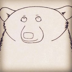 Something i drew back in the day in Moon Bear, Bear Drawing, Back In The Day, Cute Drawings, Instagram Posts, Animals, Cats, Beautiful Drawings, Animales