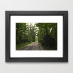 Country Days Framed Art Print  (Indiana) by Amy J Smith Photography - $37.00