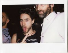 Hello Jared Leto and Harry Beee! The 88 commissioned a series of #polaroids during Kanon Organic Vodka's events at #nyfw 2011. #jaredleto