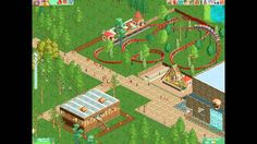 RollerCoaster Tycoon 2 PC 2002 Gameplay