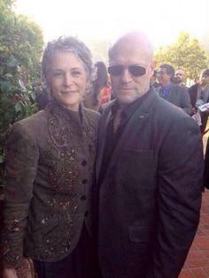 Melissa McBride et Michael Rooker aux Saturn TV Awards [Photo du jour]
