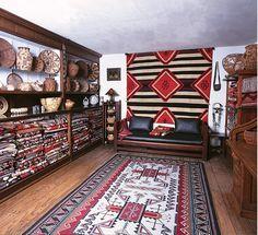 Navajo weavings vault