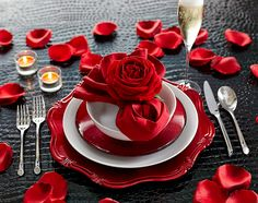 Stay at home for a romantic Valentine's Day dinner.