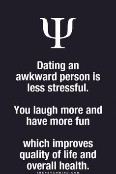 Well guess I should help someone live a good life since I definitely have some awkwardness about me. Psychology Says, Psychology Fun Facts, Psychology Quotes, Abnormal Psychology, Fact Quotes, Me Quotes, Qoutes, Psycho Facts, Physiological Facts