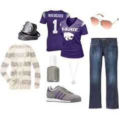 K-State game day look #2