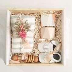 Loved and Found Baby Gift Box for new mom