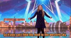 "During the Week 1 auditions of Britain's Got Talent, Beau Dermott sang ""Defying Gravity"" while simultaneously making our hearts explode out of our bodies. 
