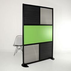 LOFTwall: 4' Black Frame divider