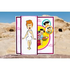 Bring the world-famous and beloved Flintstones family into your crafting with this official collection from Warner Bros. Disney Cards, Hanna Barbera, Warner Bros, Colour, Card Ideas, Collection, Lace, Color, Racing