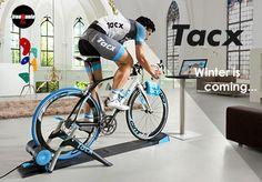 Trenażery rowerowe Tacx - zima nadciąga...;)