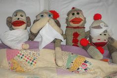 * One year ago today I published this post and I'm still in the same situation. There comes a time in life when one mu. No More Monkeys, Five Little Monkeys, Sock Monkeys, Monkey Jump, Comes A Time, Monkey Business, Christmas Stockings, Ranger, Holiday Decor