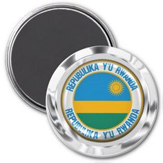 Shop Rwanda Round Emblem Magnet created by KDR_DESIGN. Rwanda Flag, Business Supplies, Flags, Art For Kids, Magnets, Gifts, Art For Toddlers, Art Kids, Presents