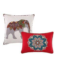 Kandula Desert Throw Pillow - Set of Two