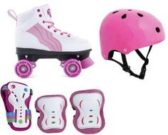Rio Roller Pure Pink 5 Pack - Patins enfant Rollers