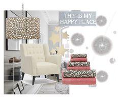 """Happy Home"" by etiquetteitaly on Polyvore featuring interior, interiors, interior design, Casa, home decor, interior decorating, Komar, Amrapur, Baxton Studio e Bethany Lowe"
