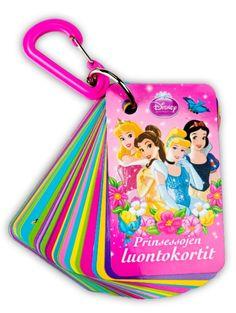 Prinsessojen luontokorteista löydät tietoa Suomen suloisimmista kasveista ja eläimistä. Korttien avulla pikkuprinsessojen eväsretkistä tulee entistä hauskempia.