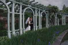 Old Westbury Gardens Wedding Portrait