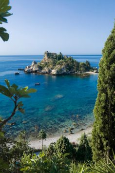 Beautiful Beaches and clear water -  Isola Bella, Taormina, Sicily