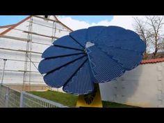 Smartflower - Super Efficient Folding Solar Panel that Tracks the Sun - The Green Optimistic