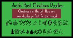 Austie Bost Christmas Doodles | dafont.com