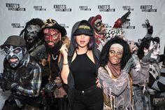 October 17: Selena at Knott's Scary Farm at Knott's Berry Farm in Buena Park, California