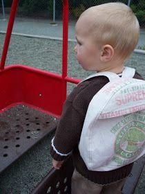 indietutes: toddler backpack pattern. Free! How cute is this?!