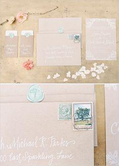 calligraphy #wedding #handlettering #envelope
